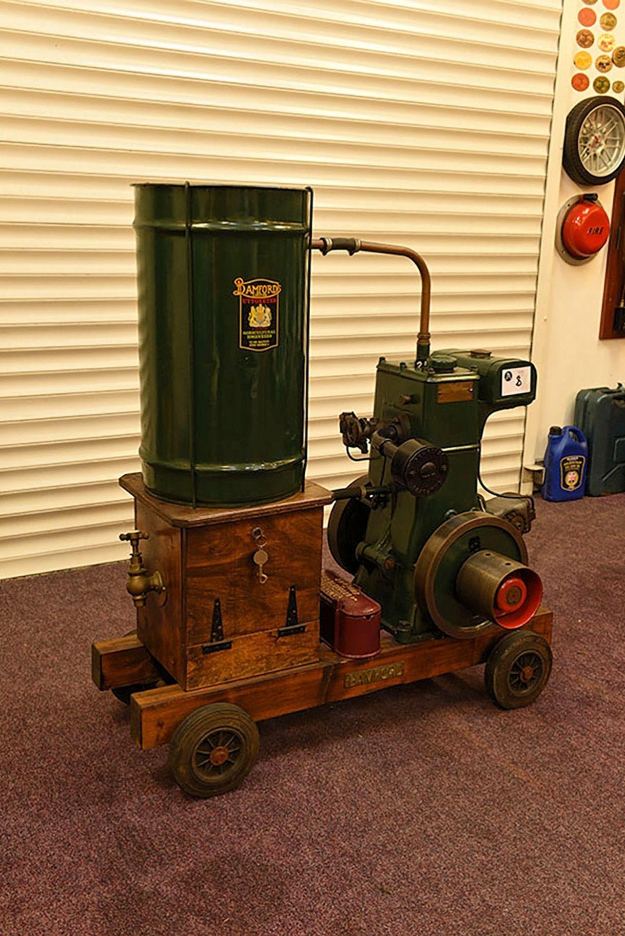 Lot 8 - Bamford water cooled petrol engine set