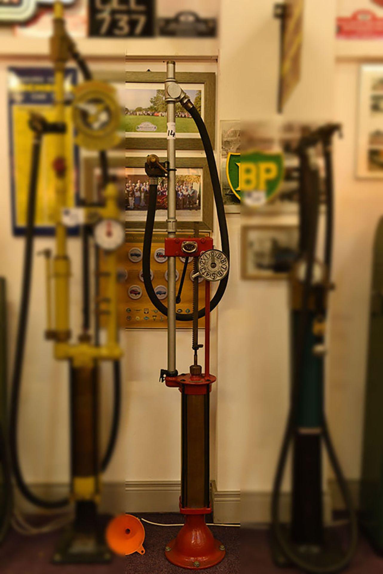 Lot 14 - Free standing petrol pump