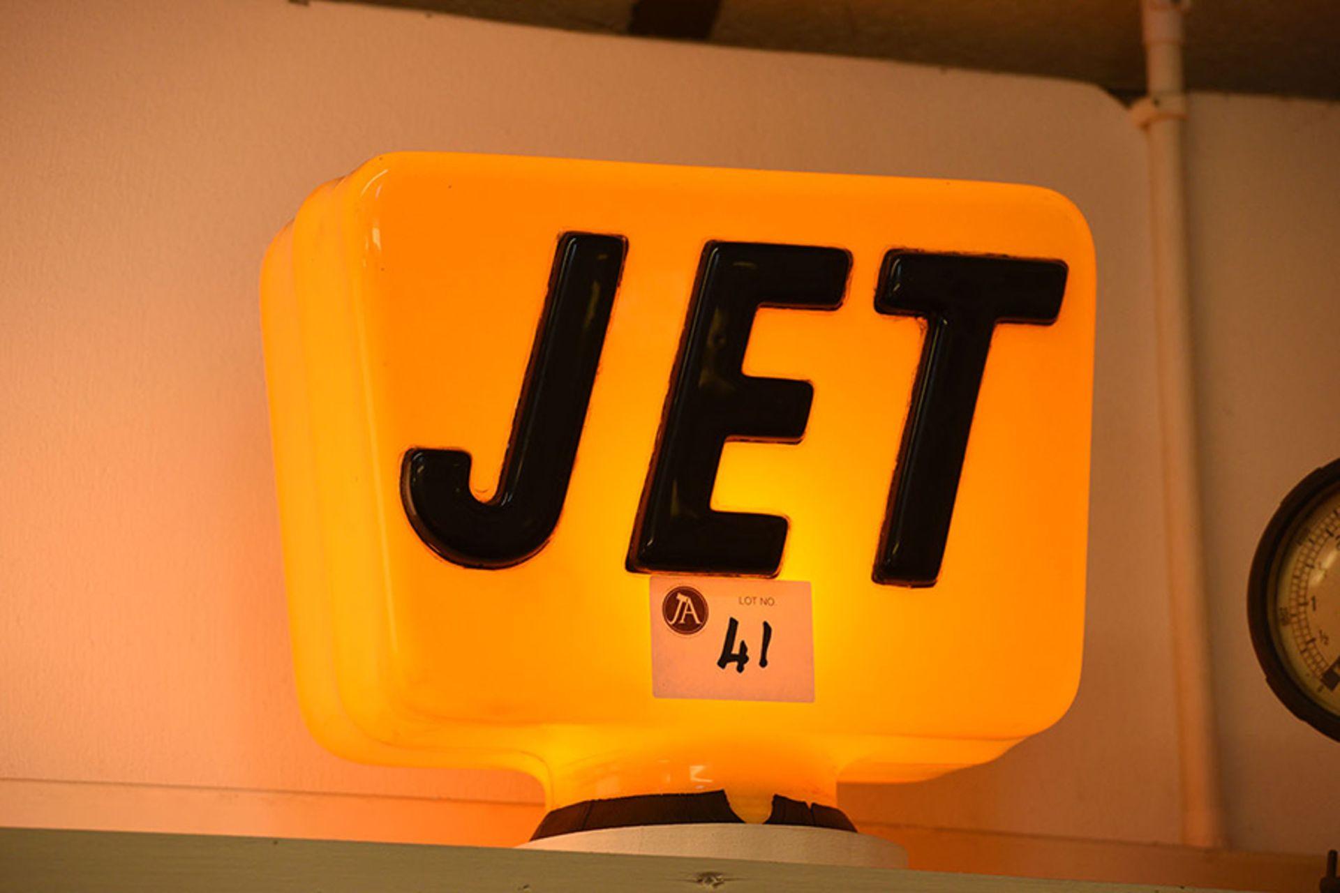 Lot 41 - Jet Plastic Globe