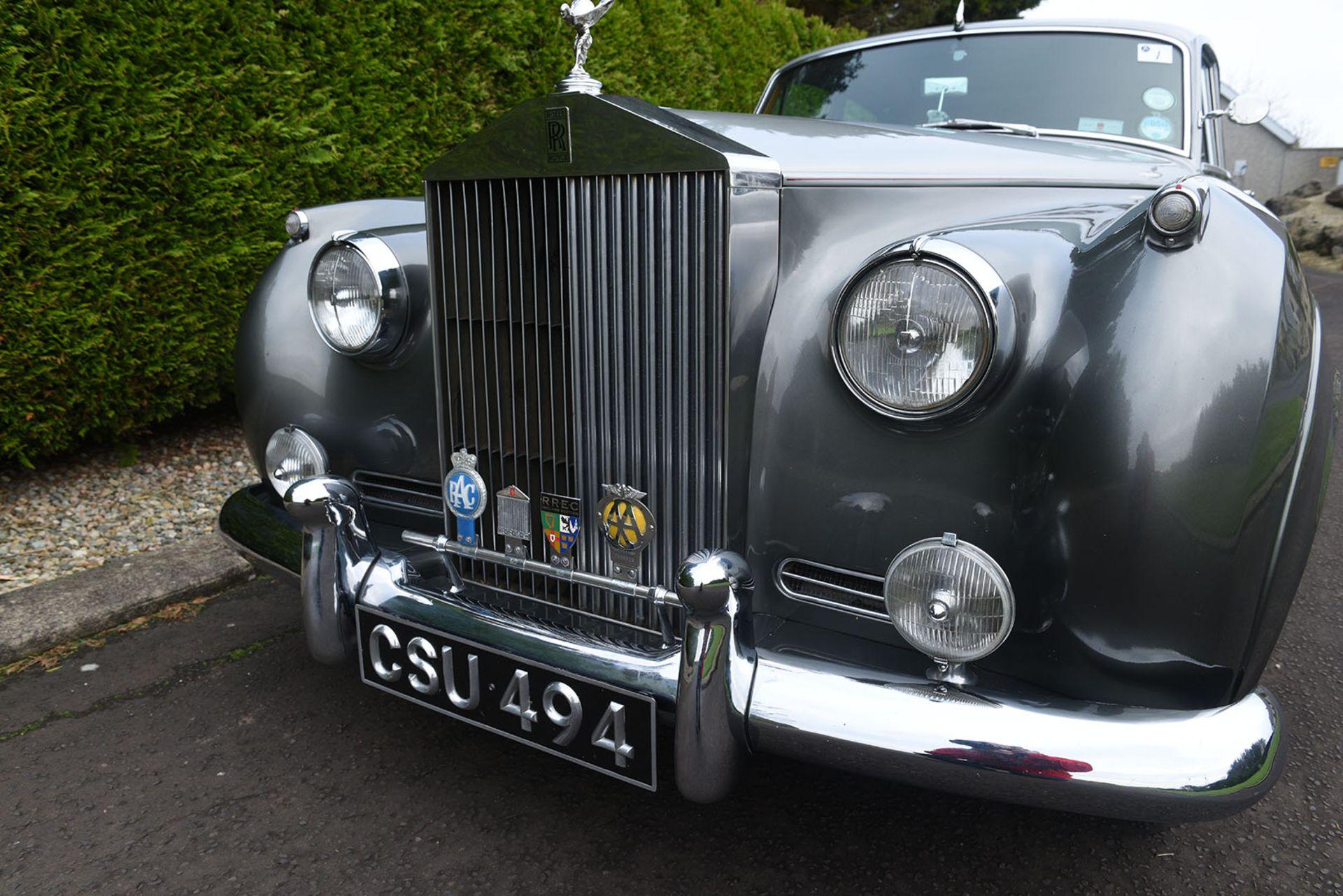 Lot 1 - CSU 494 1958 Rolls-Royce Silver Cloud 1