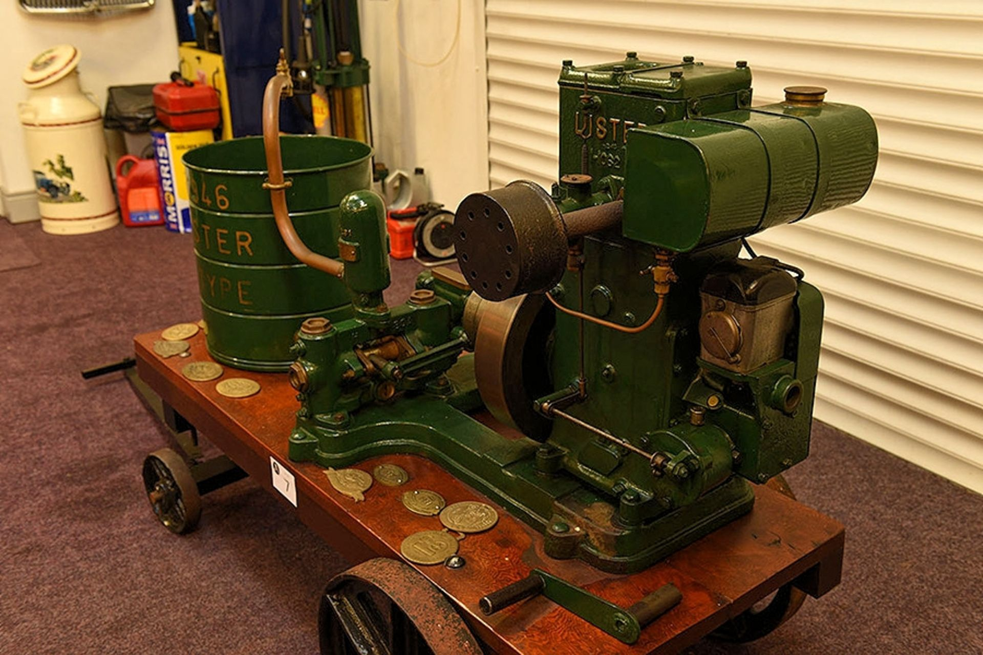 Lot 7 - 1946 Lister 1.5HP petrol engined water pump