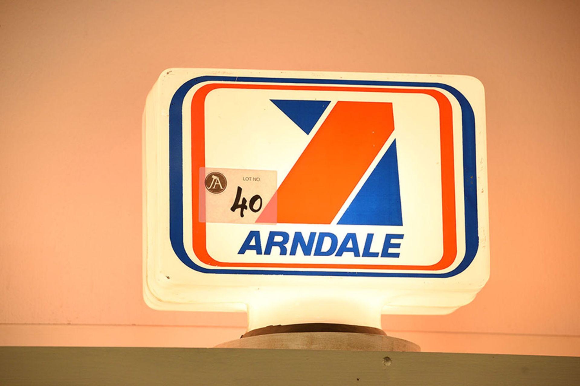 Lot 40 - Arndale Plastic Globe