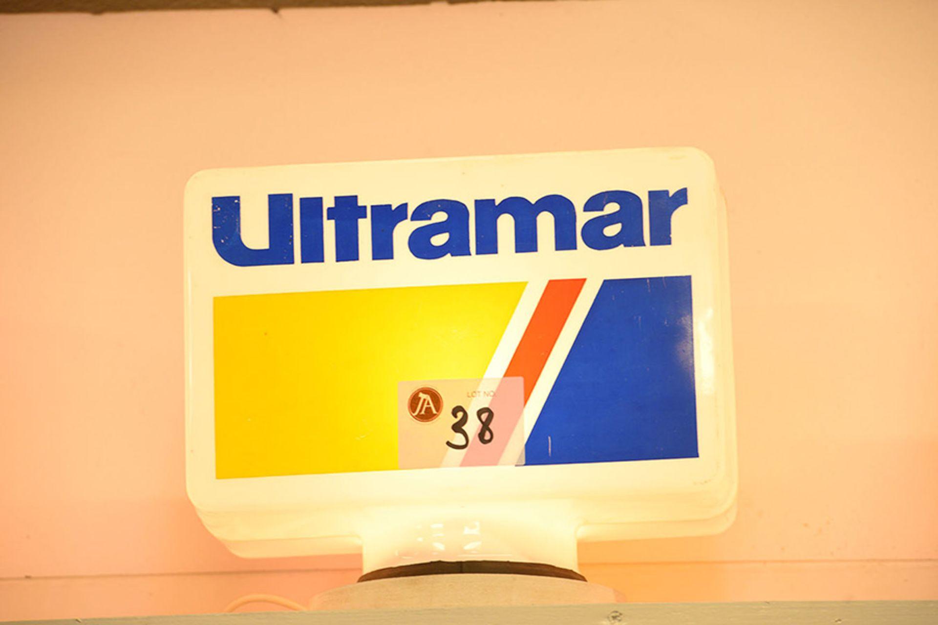 Lot 38 - Ultramar Plastic Globe