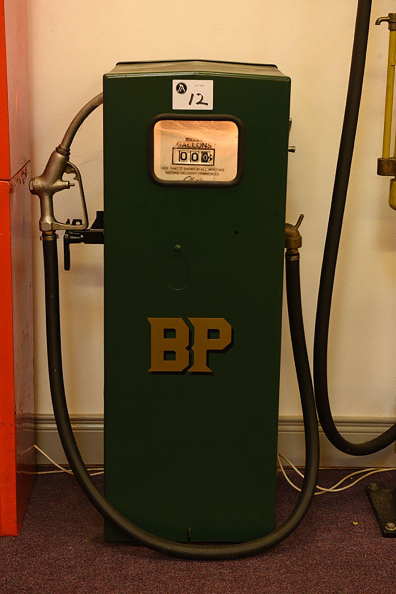 Lot 12 - BP Petrol pump
