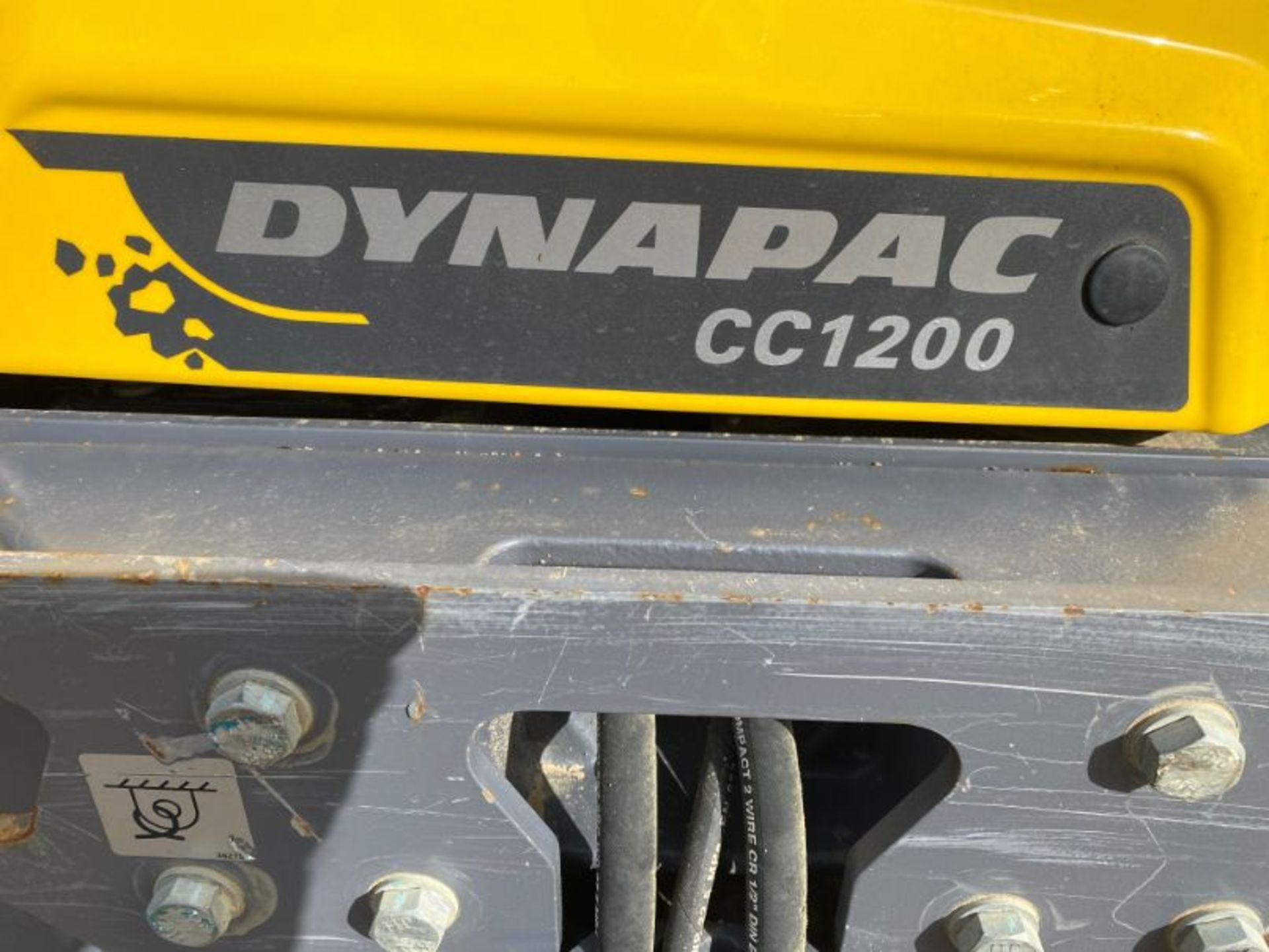 Lot 13 - Atlas Copco Dynapac CC1200 smooth drum tandem roller: serial no: 10000332AGA018447 (2016) - 365
