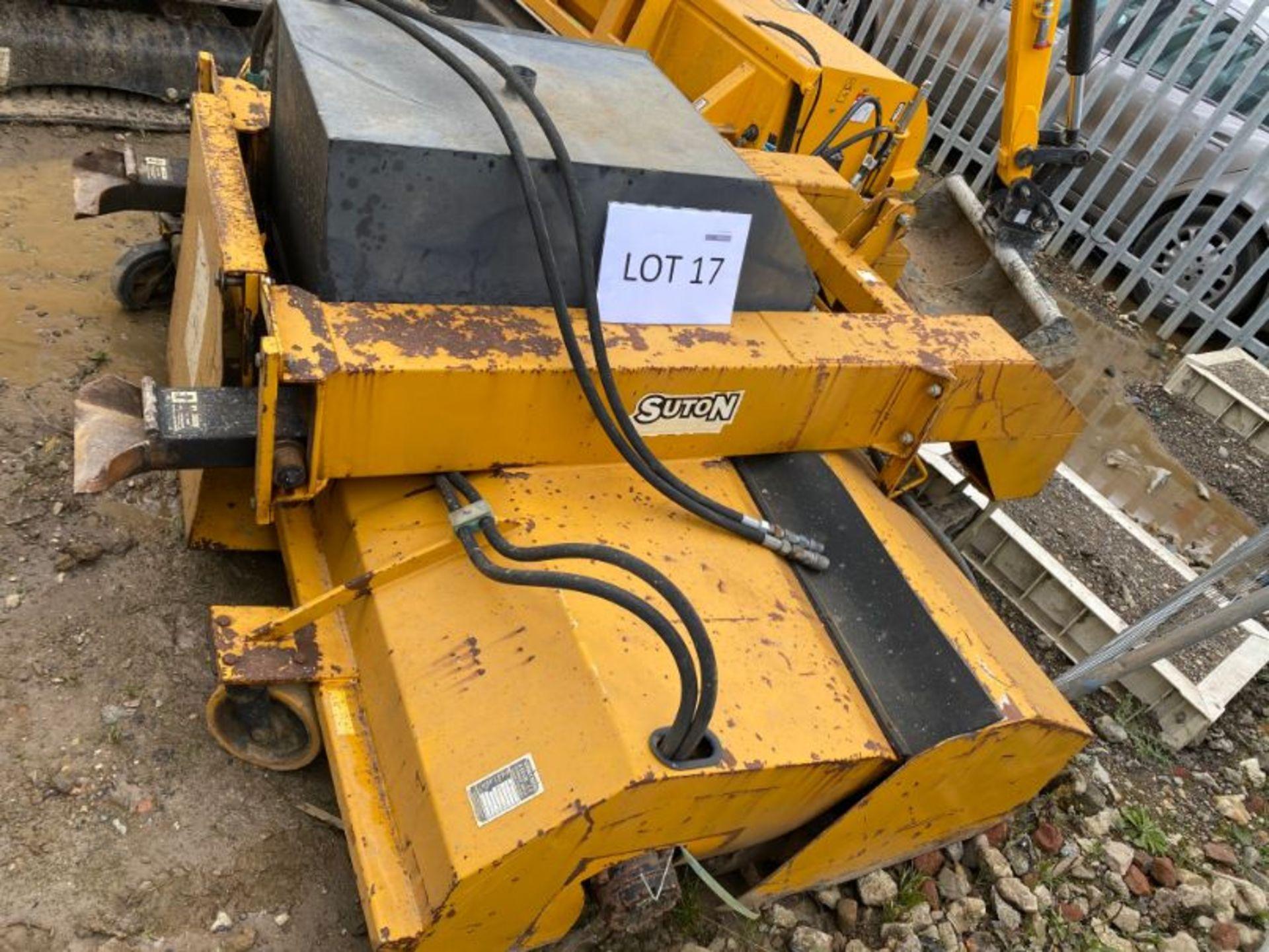 Lot 17 - Suton FSC213 road sweeper/collector attachment: serial no: 22773 (2008)