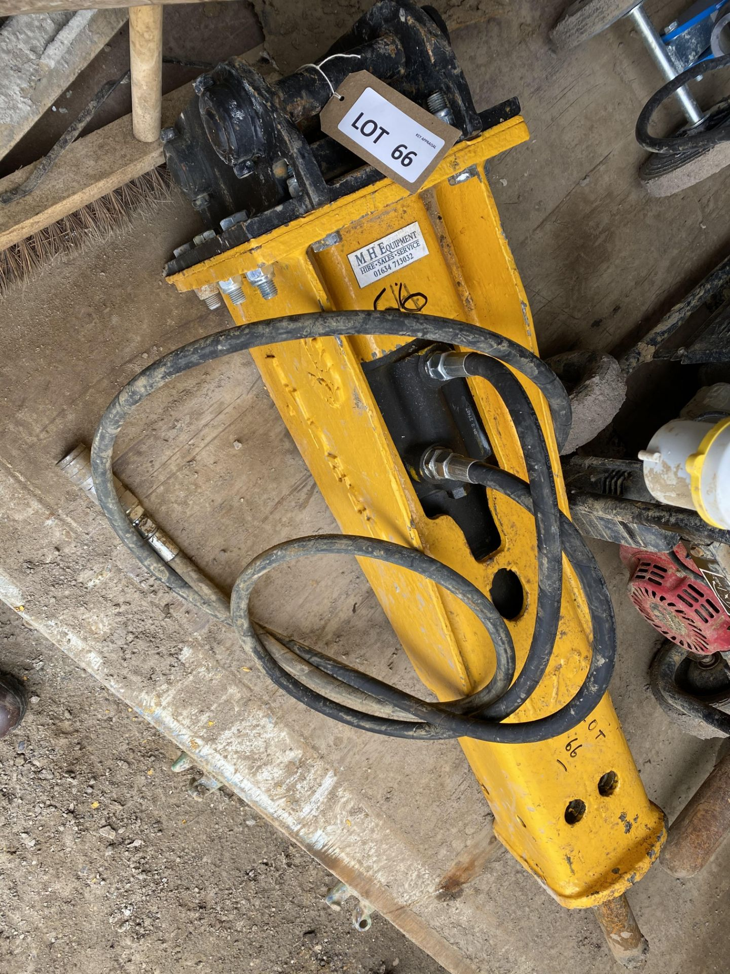Lot 66 - Indeco HP350 hydraulic breaker (maufactured 2018 - fully refurbished 2020)