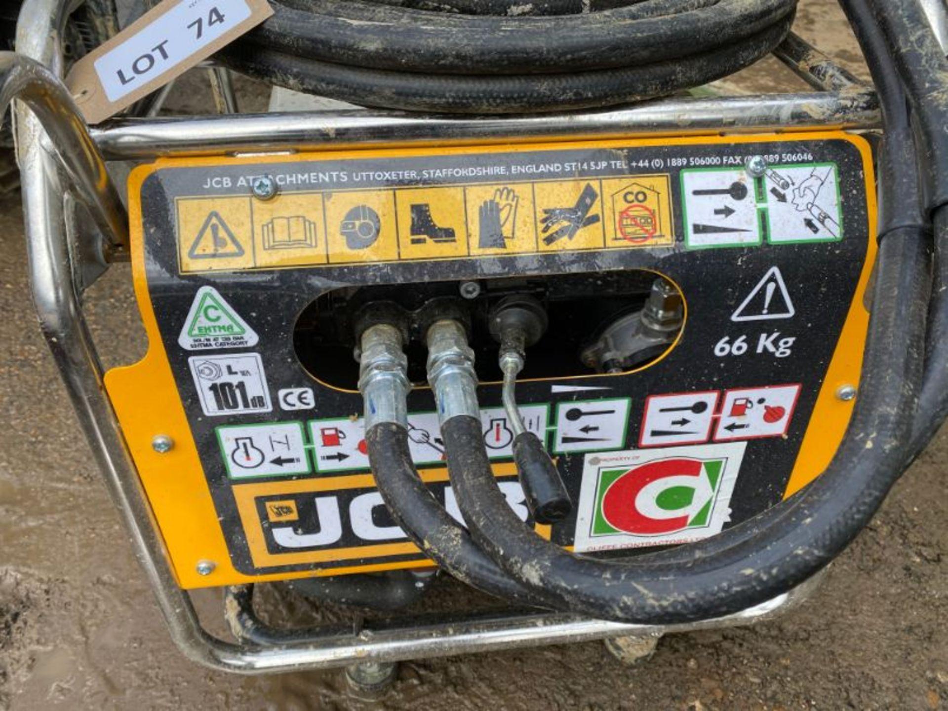 Lot 74 - JCB Beaver 5.8KW petrol power pack: serial no: B0160995 (2019): (delivered Feb-20)