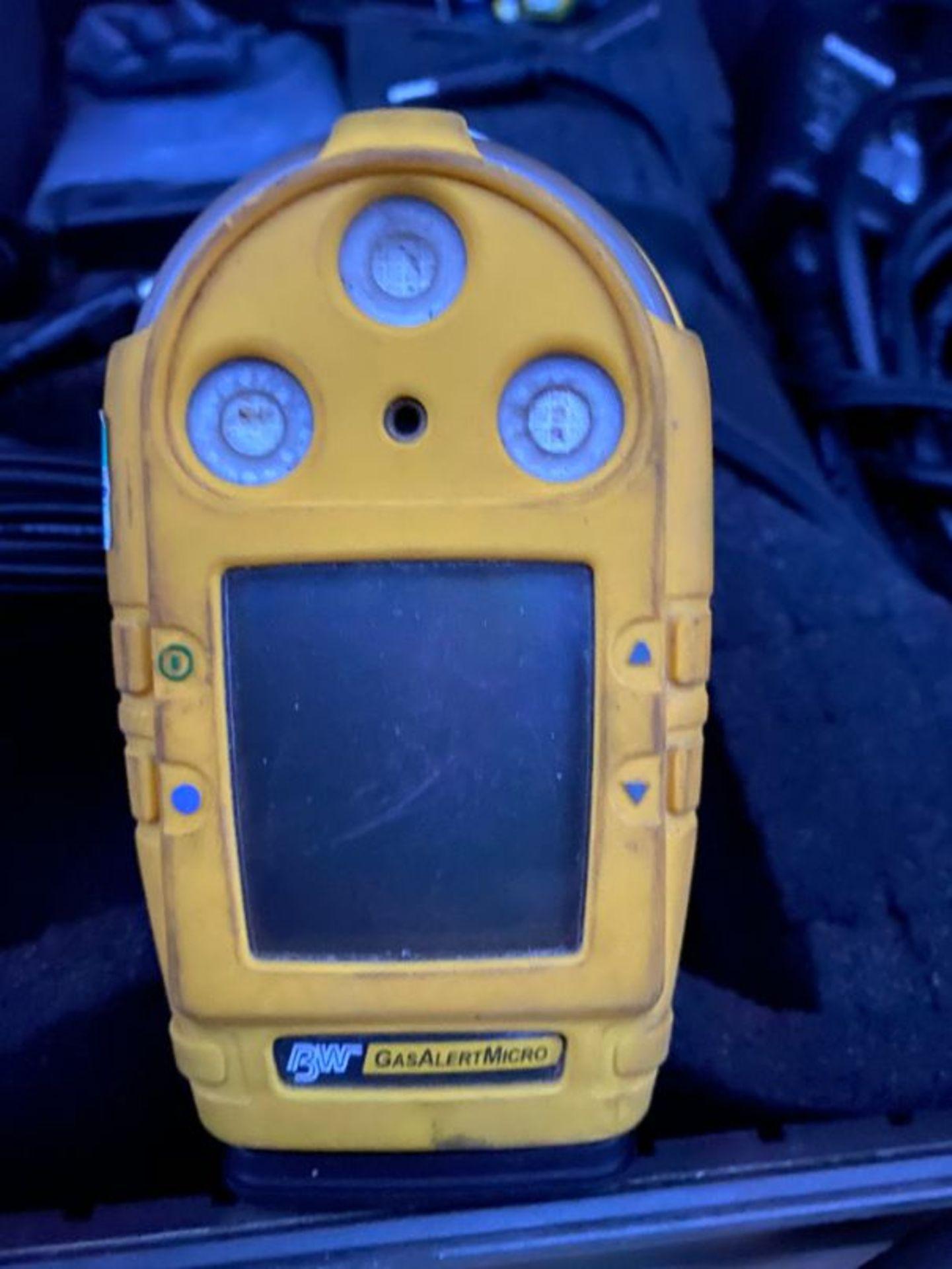 Lot 120 - BW Microdock II gas testing & calibration station x 2