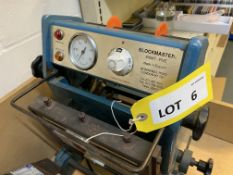Blockmaster Eight-Five 8 x 5 manual hot foil stamping press, serial No: 1460