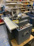 Malahide E4-CC plastic card hot foil stamping machine on stand, serial no: 3503