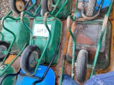 Wheelbarrow x 3 as lotted