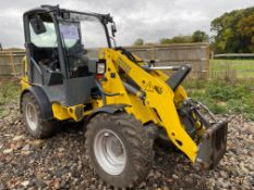 Wacker Neuson WL34 2070 CX articulated loading shovel, Serial No: 3029235 (2014) - 1062 hrs, with