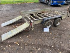 Trident plant trailer- not for road use - refurb project only