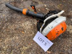 Stihl BR700 petrol backpack leaf blower (2019)