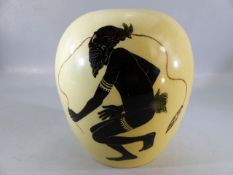 Ceramic vase by MARTIN BOYD, Australia, approx 18cm high, signed to base