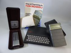 Sinclair, Sovereign calculator in original box with warranty and operation instructions booklet,