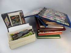 Large collection of stamps, overseas and UK, some mint. Loose and in albums