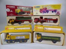 Four Boxed Corgi Classics to include Numbers, 21501, 22501, 18601 & 14501