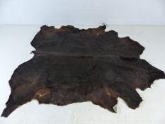 Cow hide rug/throw