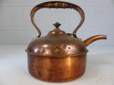 Small copper kettle