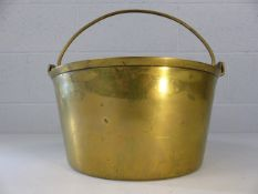 Heavy brass cooking pan diameter approx. 31cm and 4.5kg in weight