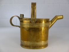 Brass watering can approx. 24cm tall