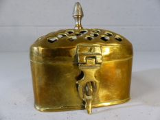 Small brass censer