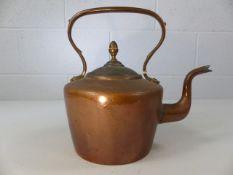 Copper kettle approx. 1.9kg
