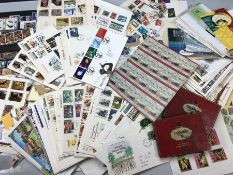 Large collection of stamps and first day covers, in albums and loose
