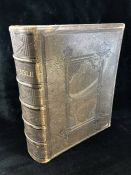 Large Leather Bound family Bible illustrated with more than nine hundred highly finished engravings.