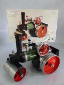 Mamod Steamroller model SR1a in original box in original condition unfired