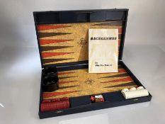 Phillip Martyn backgammon set