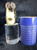 Wedgwood Glass Owl