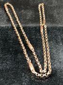 9ct Gold Hallmarked chain (approx 4.0g)