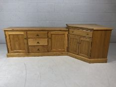 Modular hand-made TV unit by Oakfield Furniture (ex-display)