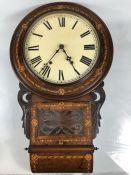 Edwardian Wall Bracket Clock