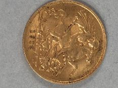 Half Sovereign dated 1912