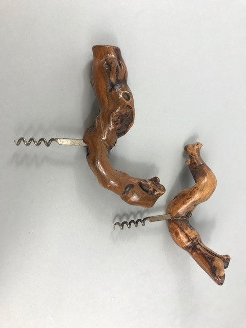 Lot 19 - Two French Laurent SIRET corkscrews