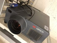 Projector by 3M model MIP8670