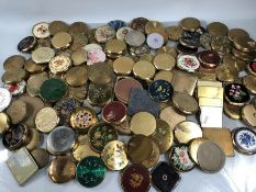 Very Large collection of Ladies Compacts to include makes such as Stratton (approx 115)