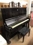 Heitzmann upright piano