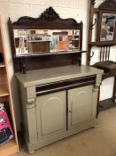 Painted buffet with drawer and cupboards under
