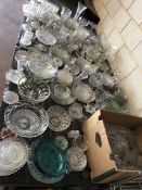 Very Large collection of various glassware