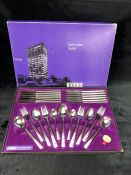 Boxed Viners 'Executive Suite' cutlery set - 12 settings