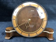 Smiths eight day mantle clock