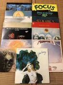 13 Progressive Rock LPs including albums by T2, Quintessence (pink Island label), Free, Camel,