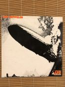 "Led Zeppelin ""Led Zeppelin"" LP. Original 1969 UK pressing on the Atlantic label 588171 with the"