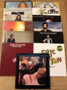 "13 Eric Clapton / Blind Faith / Derek & The Dominoes LPs including ""Blind Faith"", ""Layla"", """