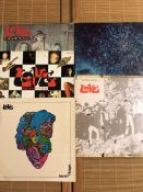"5 Love LPs including ""Revisited"", ""Out Here"" (UK Harvest pressing), ""Forever Changes"" (UK"